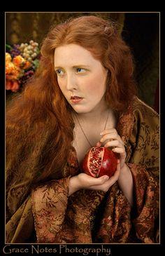 Persephone: Rossetti Tribute