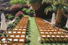 desert wedding, the O'Donnell House, Palm Springs Wedding, Ceremony