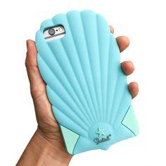 Shell Phone! Mermaid Seashell phone case, Fits iPhone 6 and 7!