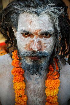 Sadhu- Haridwar, India