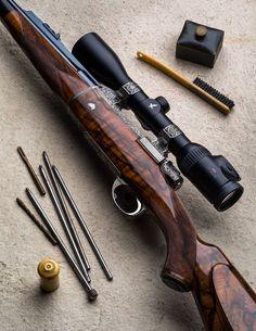 Bolt action rifle - Westley Richards & Co. Lever Action Rifles, Bolt Action Rifle, Weapons Guns, Guns And Ammo, Rifle Stock, Battle Rifle, Military Guns, Hunting Rifles, Cool Guns
