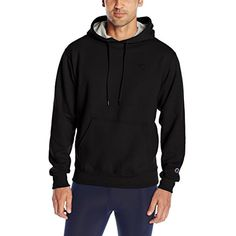 Champion Men's Powerblend Fleece Pullover Hoodie ** Check out the image by visiting the link. (This is an affiliate link) #Running