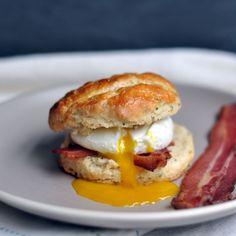 Sage Biscuit Egg Sandwich