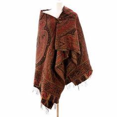 Exceptional Antique Civil War Era Wool Paisley Shawl 1860s