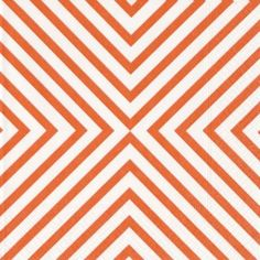 Chevron on Orange - Napkins - Set of 20