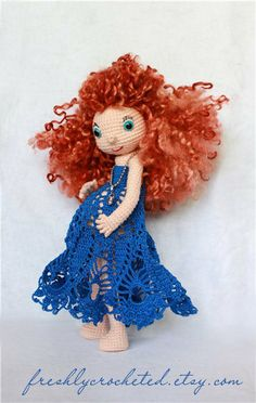 In expectation of a miracle crocheted doll by freshlycrocheted, €90.00