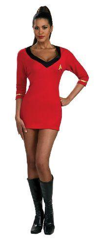 8837c1cce Amazon.com  Star Trek Secret Wishes Classic Uhura Costume  Clothing