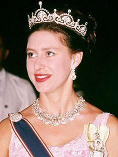 The Lotus Flower Tiara, worn by Queen Elizabeth, Queen Elizabeth the Queen Mother, Princess Margaret, Catherine, Duchess of Cambridge Middleton.