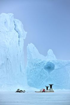 <p>The duo behind travel blog Classe Touriste, Debbie Pappyn and David De Vleeschauwer, shot this stunning photography series in 2012 when they travelled the arctic kingdom of Canada.  The serie