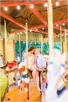 Carousel engagement session http://lorenjacksonphotography.com/tuscora-park-engagement-photographer-akron-ohio/