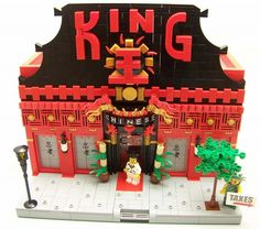The King Ain't Dead...: A LEGO® creation by Hans Dendauw NPD : MOCpages.com