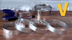 This tutorial is on how to make foil rings. In this video we will show you how easily you can create these aluminium rings at home. If you fancy low-fat and ...