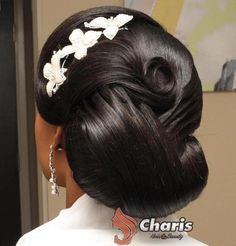 Wedding Updos For Black Hair
