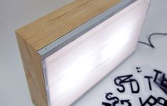 Made by Australian design company Page Thirty Three, the Cinematic Lightbox is a lighting fixture that looks like a theater banner display. The box is Lightbox Letters, Cafe Signage, Light Em Up, Cool Typography, Up In Smoke, Sign Lighting, Sign Design, Decoration, Floating Nightstand