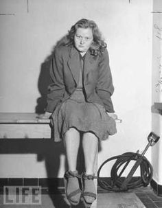 """179 Rare Photos Of The Past: Page Ilse Koch, the """"bitch of Buchenwald"""", in captivity. Her atrocities involved making human skin lampshades World History, World War Ii, Indira Ghandi, Guerra Total, Performance Marketing, Historia Universal, Religion, Interesting History, Interesting Tattoos"""
