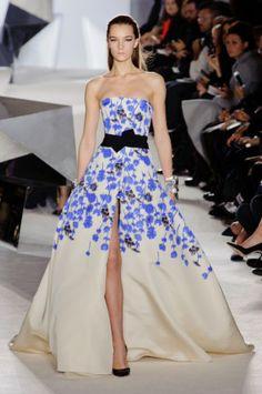 Défilé Giambattista Valli Haute Couture Printemps-Eté 2014 - Paris - Femme - Elle