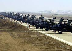 Apache Lined-up
