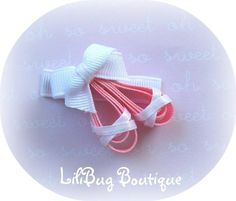 Free Hair Bows Instructions   ... Free Hair Bow Instructions--Learn how to make hairbows and hair clips