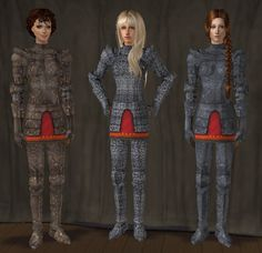 The Medieval Smithy SIMS 2: Female Armour