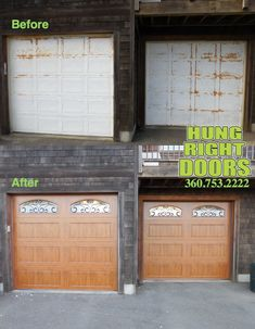Outdated Garage Doors Get A Makeover With New Clopay Gallery Collection Steel Carriage House Ultra