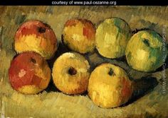 Apples, Paul Cezanne