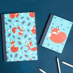 Rusty The Fox Notebook | dotcomgiftshop