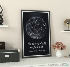 9 Best ⭐ Custom Star Map Gift Personalized for Anniversary Date