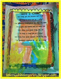 http://www.teacherspayteachers.com/Product/Here-I-Come-First-Grade-Poem--247664
