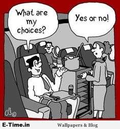 In Flight Choices