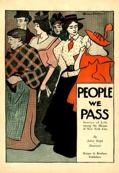 People We Pass, Stories illustrated by Edward Penfield, 1896.