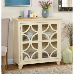 simple living sydney ivory cabinet white scroll cabinet