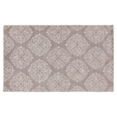 Check out this item at One Kings Lane! Locust Rug, Gray/Silver Cloud