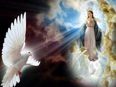 María Inmaculada, esposa del Espíritu Santo.