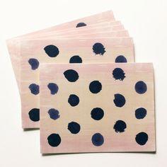 Polka Dot Notes, Set of 6
