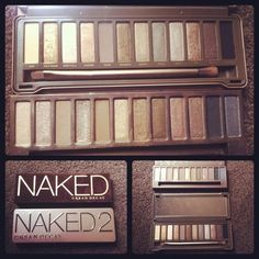 when i run out of my current million sets of eyeshadow, i'm totally getting me some naked pallets (: