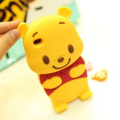 3D Cute Disney Winnie The Pooh Bear Soft Silicone Case Cover for I Phone 4 4S 4G | eBay