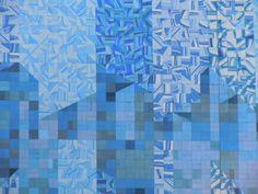 Paredão de Azulejos (1982) do arquitecto e pintor João Abel Manta, produzida na Fábrica Constância. Trata-se do exemplar em azulejaria com maior extensão, a nível mundial. Avenida Calouste Gulbenkian, Lisboa.