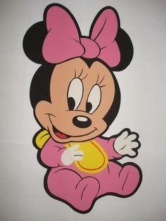 Placa de Eva do Baby Disney  Ideal para enfeitar sua festa  Tenho certeza que será um SUCESSO!  Tamanho 55cm alt.  Preço refere-se a cada personagens!! R$ 14,98