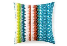 Ikat 20x20 Pillow, Multi on OneKingsLane.com