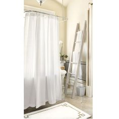 Trouville Lace Shower Curtain