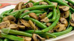 Green Beans & Mushrooms