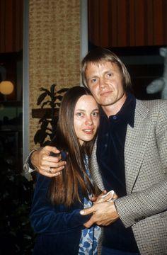 Angelina Jolie's parents, Marcheline Bertrand and John Voight...