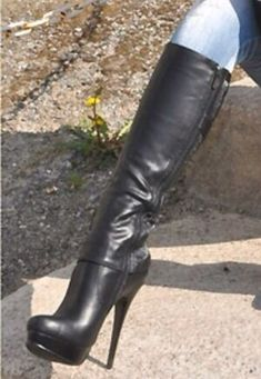 Brown High Heel Boots, High Leather Boots, Thigh High Boots, Knee Boots, Heeled Boots, High Heels, Heel Boots For Women, Stiletto Boots, Sexy Boots