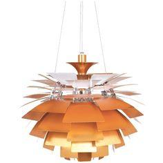 Check out the Stilnovo Artichoke 3 Light Pendant in Copper Lamp, Mid Century Modern Lighting, Copper Pendant Lamp, 3 Light Pendant, Stilnovo, Retro Lighting, Light, Light Copper, Ceiling Lamp