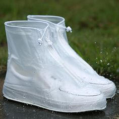 Outdoor Shoe Covers Rainproof Waterproof Anti Slip Low-cut Rain Boot Anti Slip