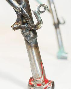 Bike-Z Chair Bicycle Frames & Bent Plywood. . . . #furniture #finefurniture #furnituremaker #furnituredesigner #woodworker #woodworkersofinstagram #oaklandartist #woodandmetal  #chair #scrapmetalart #bianchi