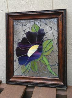 Hey, I found this really awesome Etsy listing at https://www.etsy.com/listing/192952533/stained-glass-mosaic-framed-glass-on