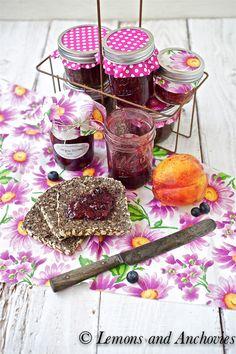 Nectarine-Blueberry Jam Recipe