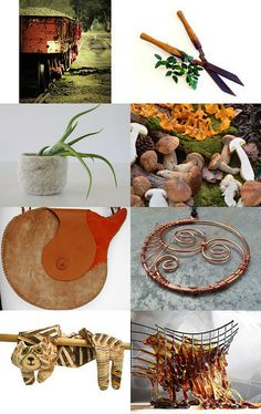 Earthy feel by Annaig Bidan on Etsy featuring ZaZing --Pinned with TreasuryPin.com