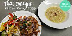 Thai Coconut Chicken Curry